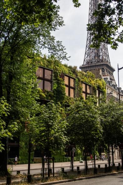 Vertical garden @ Quai Branly - Jacques Chirac