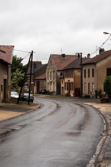 Typical village near Briey