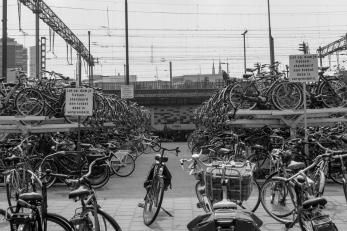 Bus Station Bike Parking